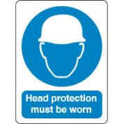 Mandatory Safety Sign - Head Protection 077
